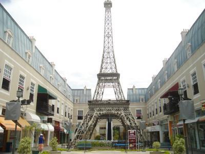 Você talvez pense que essa beleza é Paris, mas é ali mesmo na Barra da Tijuca