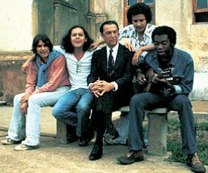 Lô, Brant, JK, Márcio Borges e Milton, a turma do Brasil urbano