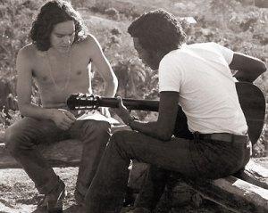 Fernando Brant e Milton Nascimento inventando a MPB