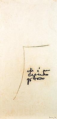 Monotipia (este é um desenho gostoso), 1965