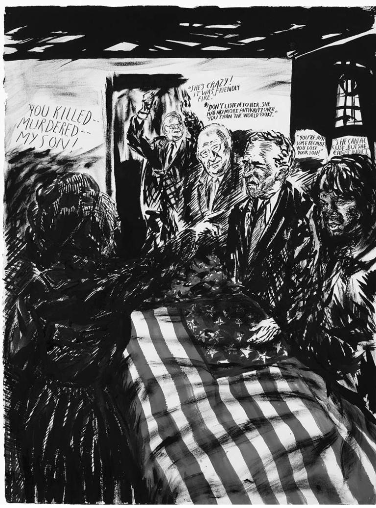 Sem título (You killed—Murdered—). 2007. Todos os trabalhos são da galeria de David Zwirner