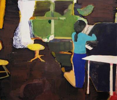 Cristina Canale, Aula (o fantasma do gatinho), 2004.