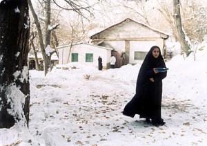 Cena do filme de Makhmalbaf