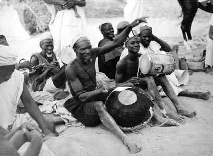 Os músicos de Tourou et Bitti