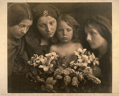 Julia Margaret Cameron, The return after 3 days. 1865.