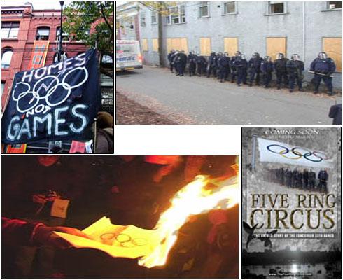 Protestos contra as olimpíadas têm sido recorrentes, ainda que abafados pela imprensa e pela empolgação do público de classe média